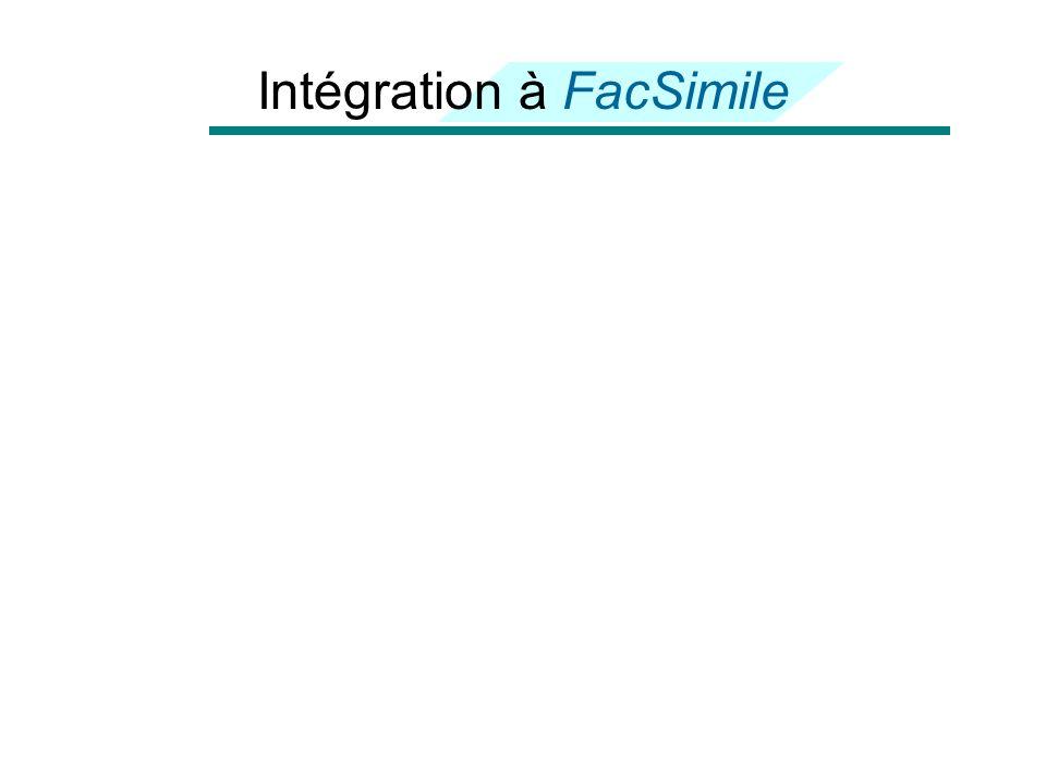 Intégration à FacSimile