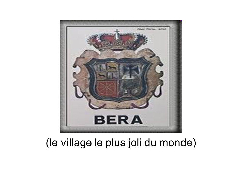 BERA (le village le plus joli du monde)