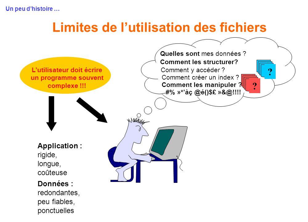 Entrepôt de BDs, insertion et réutilisation flexible Propriétés pertinentes • Une exigence de haute performance •données énormes, données complexes...