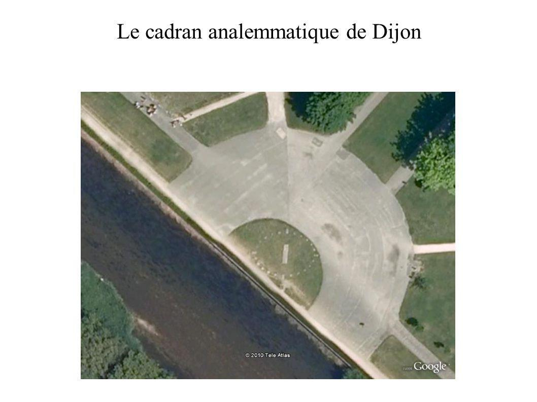 Photographie : Evelyne TRICOT Le cadran analemmatique de Dijon