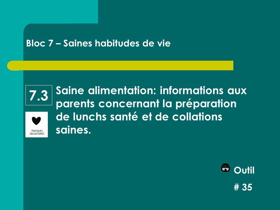 Saine alimentation: informations aux parents concernant la préparation de lunchs santé et de collations saines.