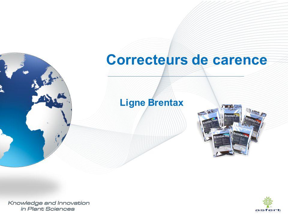 Correcteurs de carence Ligne Brentax