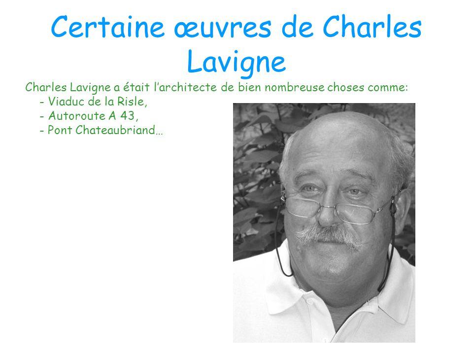 Certaines œuvres de Alain Montois Alain Montois a était l'architecte de nombreuses choses comme: -Autoroute A 14 -Pont de l'Ile de Ré -Viaduc du cheval blanc