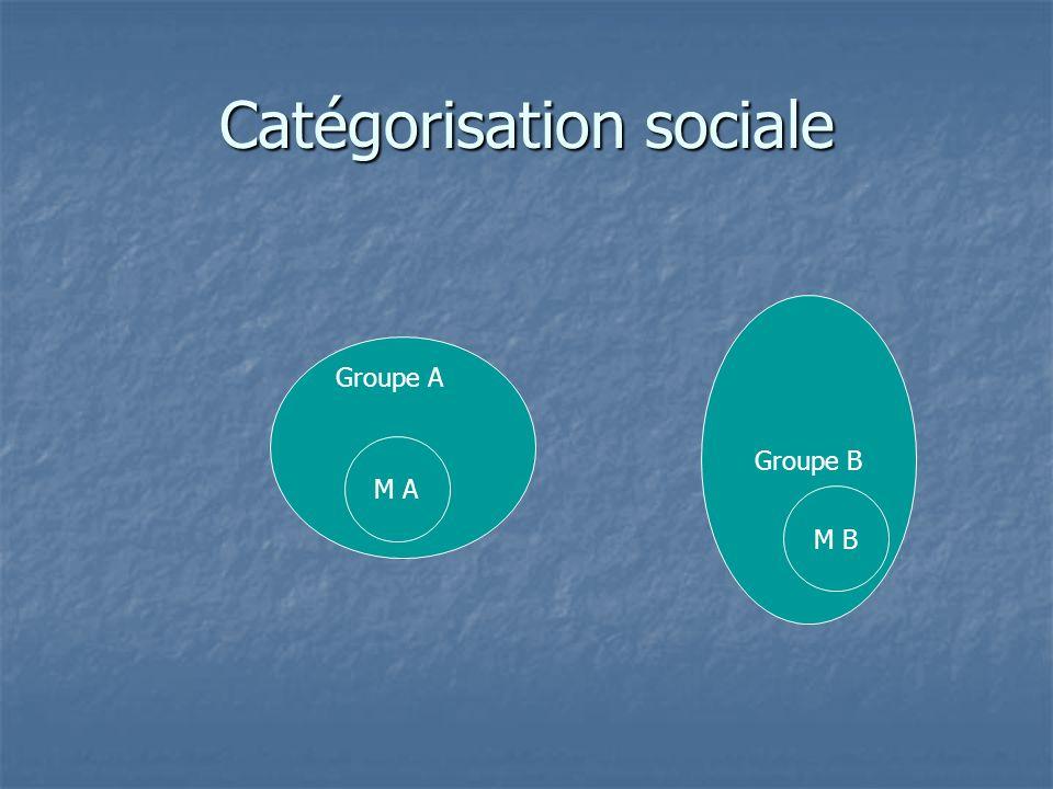 La recherche La recherche  Il existe un grand nombre de recherches expérimentales dans le champ de la catégorisation sociale  elles mettent au jour les mécanismes à l'œuvre dans la discrimination