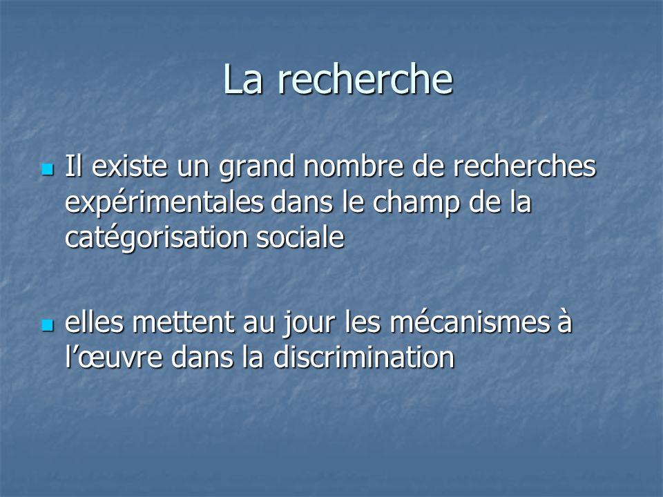LA CATÉGORISATION SOCIALE 1 L'explication du fonctionnement du sujet humain dans les relations intergroupes s'appuie essentiellement sur la théorie de la catégorisation sociale.