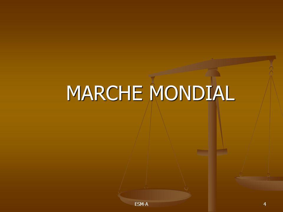 ESM-A4 MARCHE MONDIAL MARCHE MONDIAL