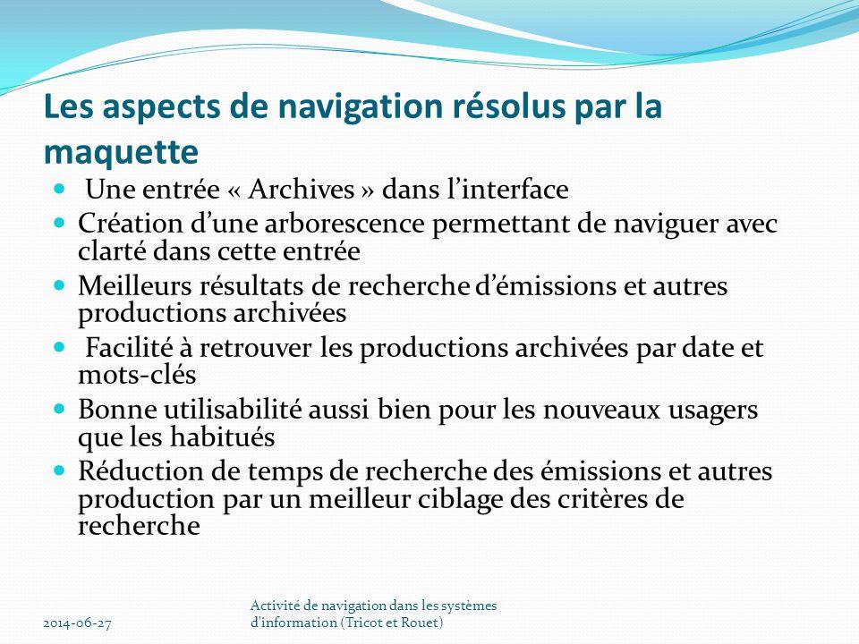 Par date  (  D L M M J V S D  1 2 3 4 5 6 7  8 9.................... 2014-06-27 Activité de navigation dans les systèmes d'information (Tricot e