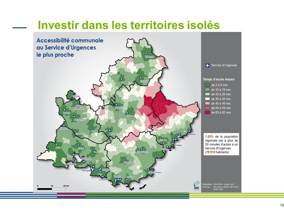 14 Investir dans les territoires isolés