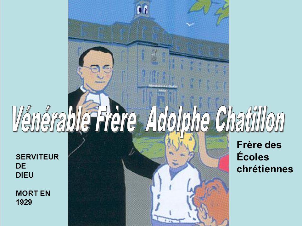 Dans la nature paisible du village de Nicolet le 31 octobre 1871, la famille Chatillon s'agrandit d'un nouveau poupon: Il s'appellera couramment Adolphe tout en étant sous le patronage de l'archange Raphaël