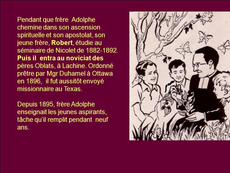 On l'envoie diriger l'école de Lachine (1904), puis celle de Sainte-Cunégonde (1907).