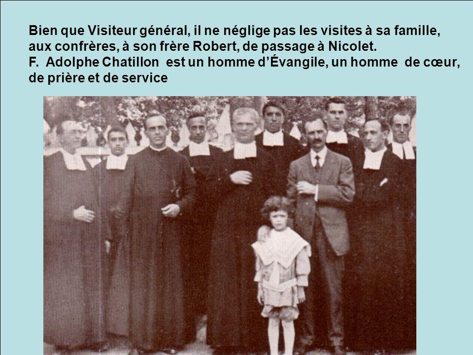 Délégué en Europe, il ira prier aux grands sanctuaires de Lourdes, de Montmartre (Paris), et de Lisieux, chez la petite Thérèse, carmélite.