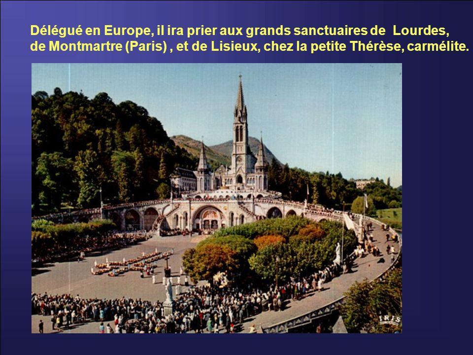 À Lembecq-lez-Hal, en Belgique, pour les affaires spirituelles de la congrégation, il éprouve des fatigues; la santé faiblit.
