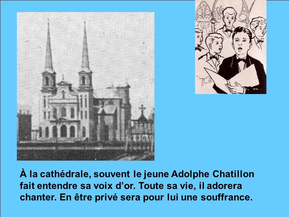 Adolphe n'a pas encore dix ans lorsque sa mère décède âgée de 37 ans… « Quand je veux me représenter la tendresse de la Vierge Marie, je me rappelle ma mère » aimait redire le frère Théophanius-Léo