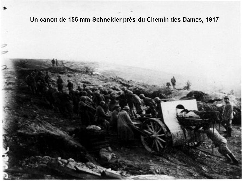 L'offensive du Chemin des Dames vue du village de Craonnelle