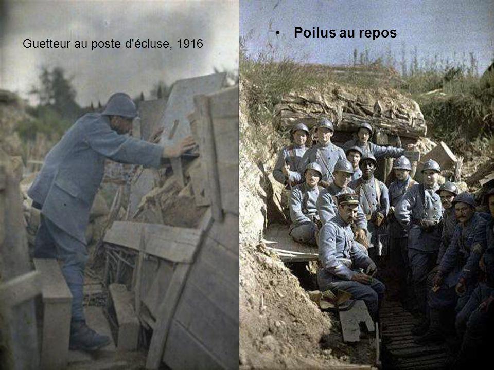 •Lors de la Première Guerre mondiale, les prisonniers ne sont pas encore protégés par la Convention de Genève, et peuvent donc être photographiés sans