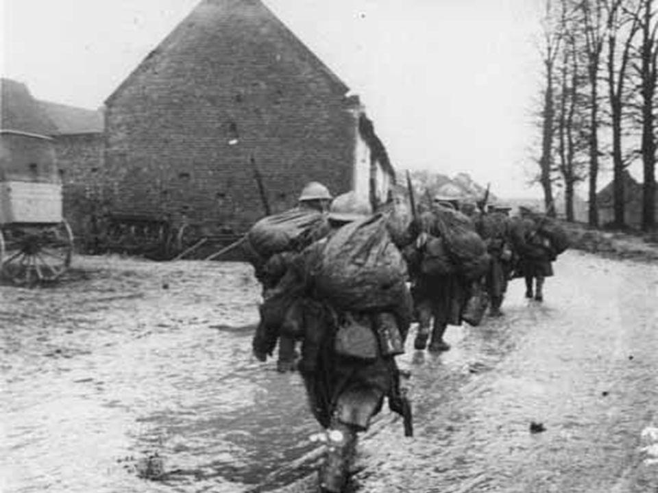 •Dans les premières semaines de la guerre, en Belgique comme dans le nord de la France, les troupes allemandes se signalent par de brutales et massive