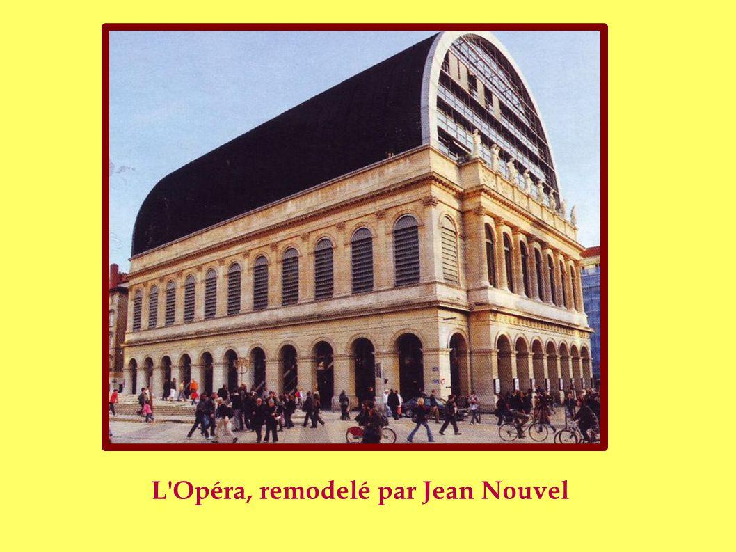 L Opéra, remodelé par Jean Nouvel