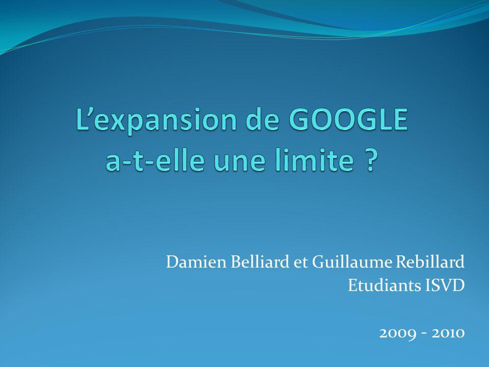 Les services de Google 2007 Concurrent de IE ? Google Chrome