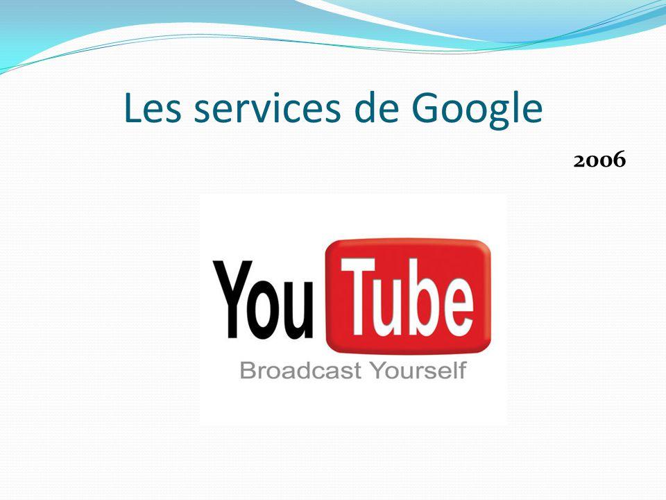 Les services de Google 2006