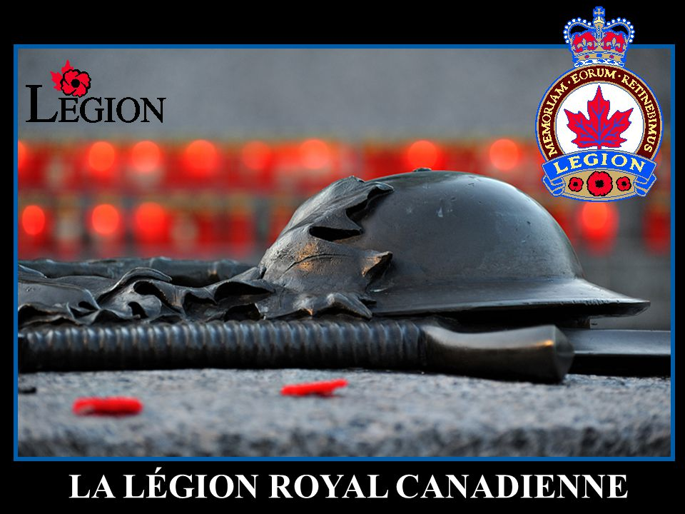 39 LA LÉGION ROYAL CANADIENNE
