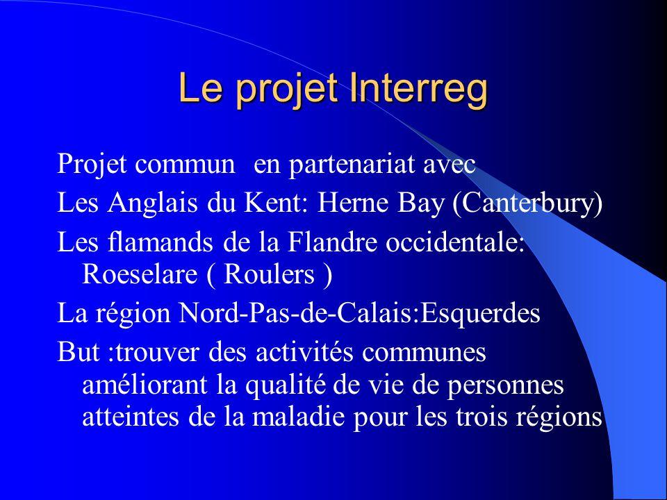 Le projet Interreg Projet commun en partenariat avec Les Anglais du Kent: Herne Bay (Canterbury) Les flamands de la Flandre occidentale: Roeselare ( R