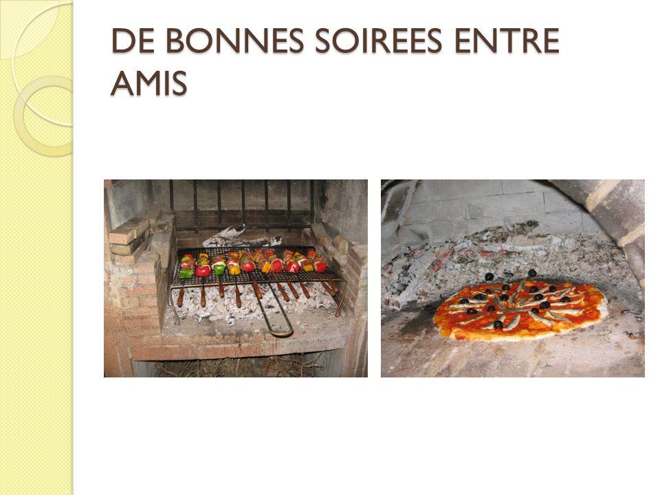 DE BONNES SOIREES ENTRE AMIS