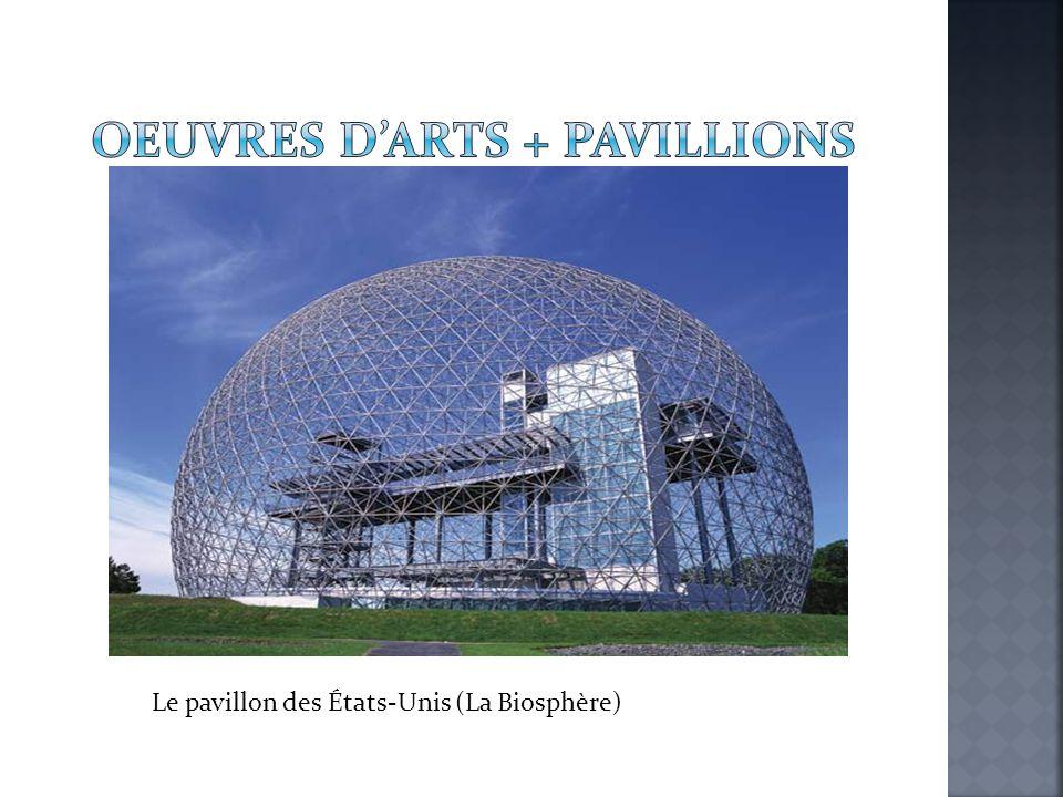 Le pavillon des États-Unis (La Biosphère)