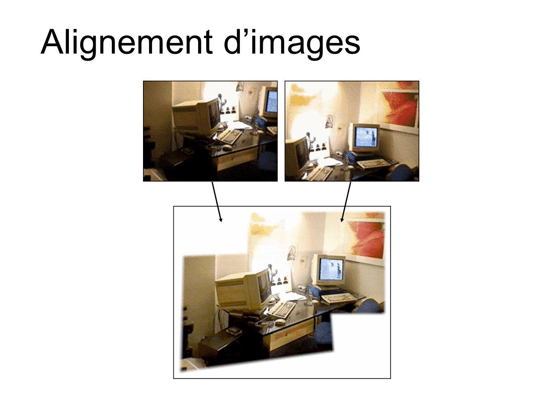 Alignement d'images