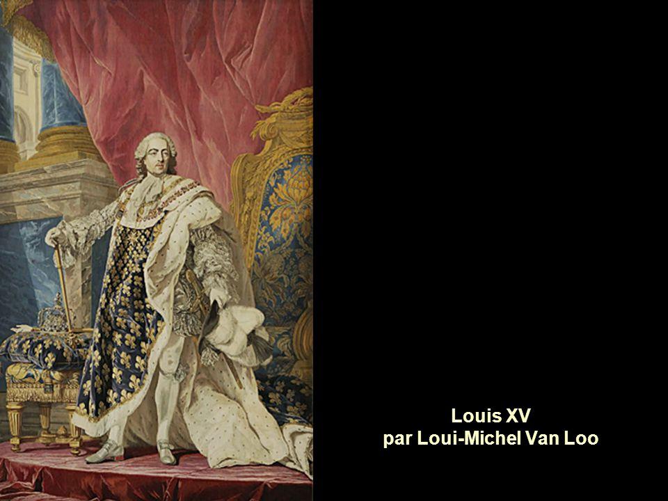 Louis XV par Loui-Michel Van Loo