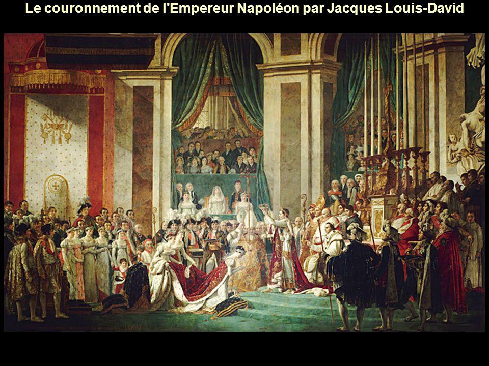 Le couronnement de l Empereur Napoléon par Jacques Louis-David
