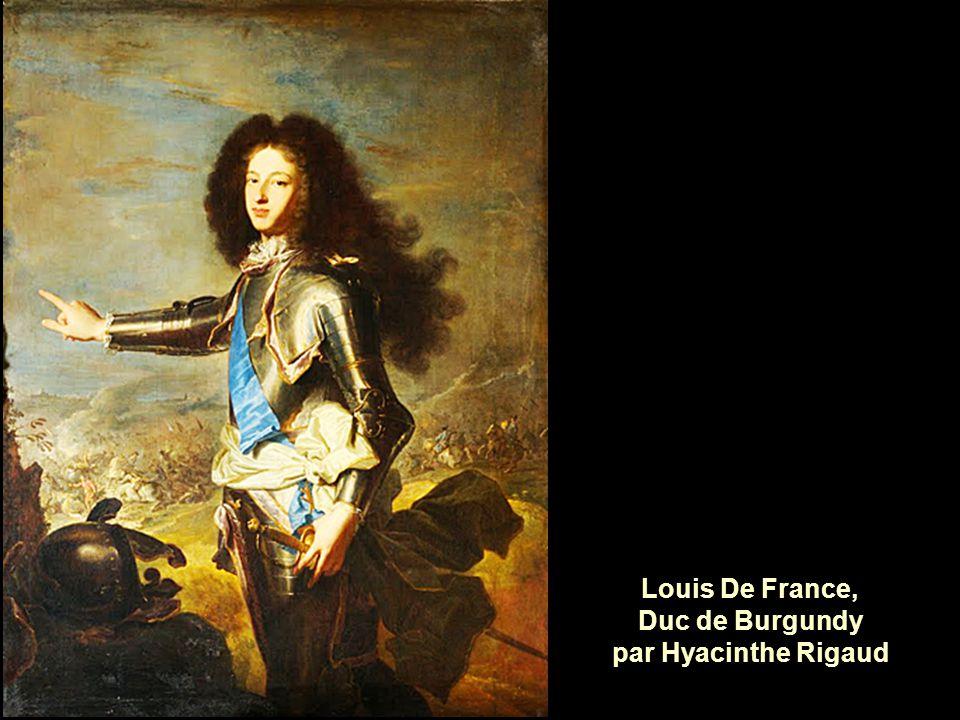 Louis De France, Duc de Burgundy par Hyacinthe Rigaud