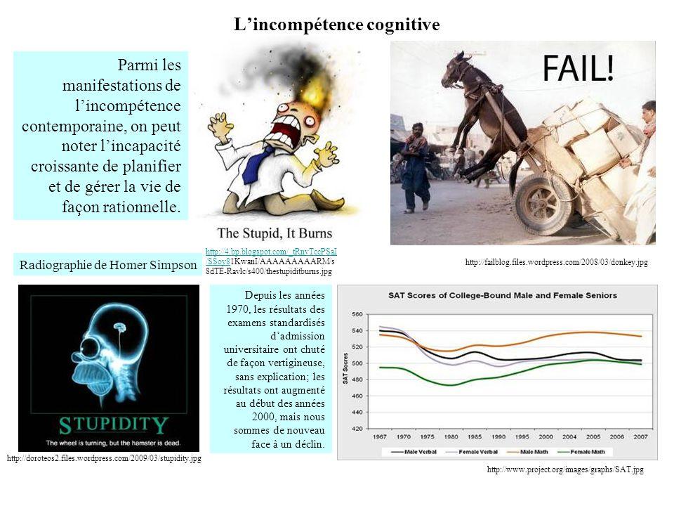 L'incompétence cognitive http://doroteos2.files.wordpress.com/2009/03/stupidity.jpg http://4.bp.blogspot.com/_tRnvTccPSaI /SSoy8http://4.bp.blogspot.c