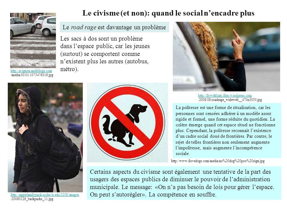 Le civisme (et non): quand le social n'encadre plus http://aggiefamilypack.ucdavis.edu/0208/images http://aggiefamilypack.ucdavis.edu/0208/images /200