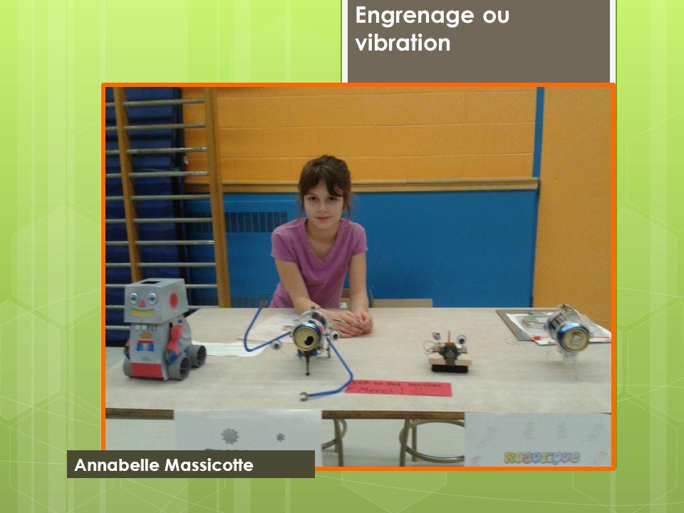 Engrenage ou vibration Annabelle Massicotte