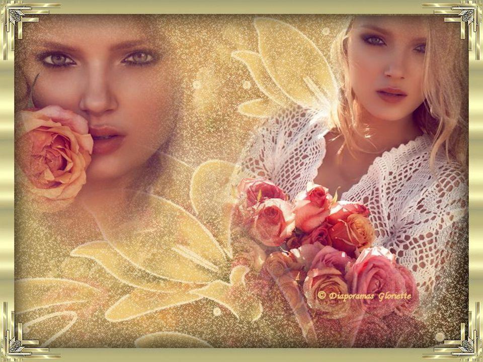 Je tiens dans mes bras une gerbe de fleurs Je sais que tu les aimes toutes, peu importe leurs couleurs. Ta préférence est celle qui a des pétales de v