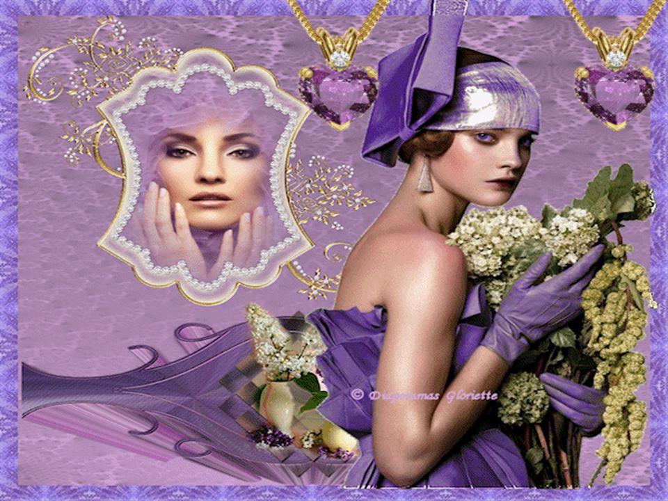 Je reviens du jardin, le lilas est en fleur J'aime tellement son odeur, que dans un beau vase, sur la Table il trônera. Le vent léger me caresse le co