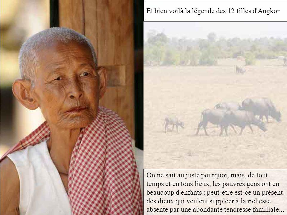 Racontez nous une belle légende d'Angkor