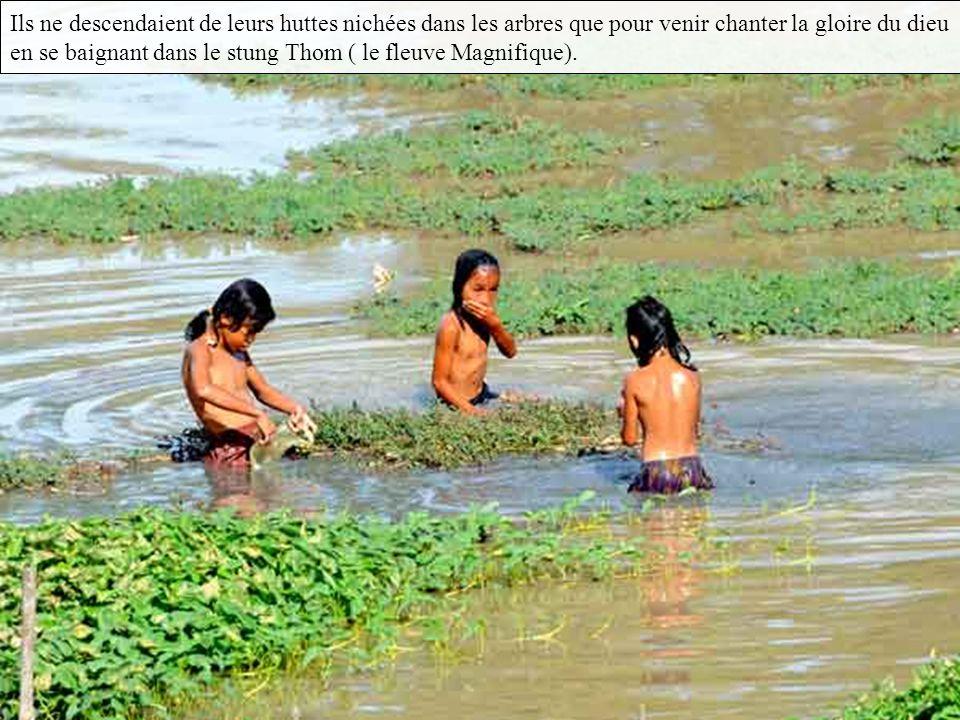 Mais les dieux peuvent-ils aussi s occuper d une pauvre famille de bûcherons khmers perdus dans les futaies qui couvrent le mont Kulēn (Mont des Letchis ) .