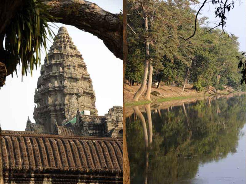 Alors, au grand étonnement de ses soeurs, Néang Pou leur décrivait le nouveau temple d'Angkor Vat que le roi Suryavarman venait de faire construire en