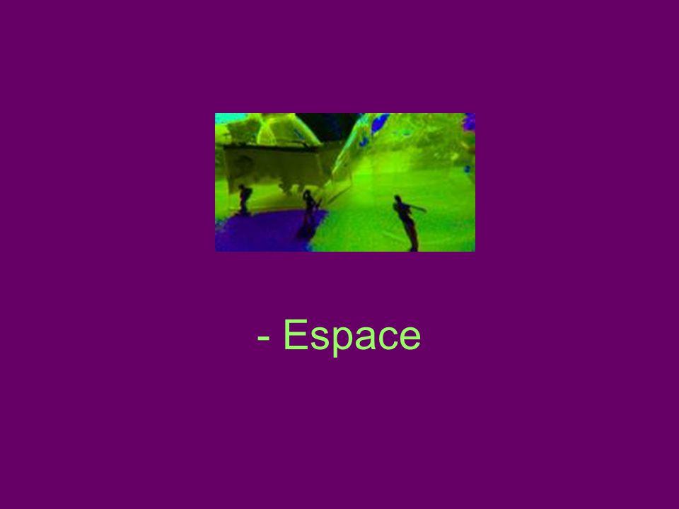 - Espace