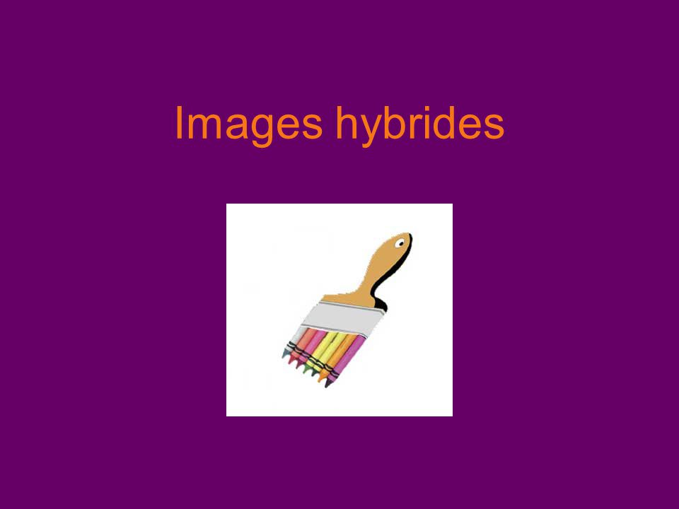 Images hybrides