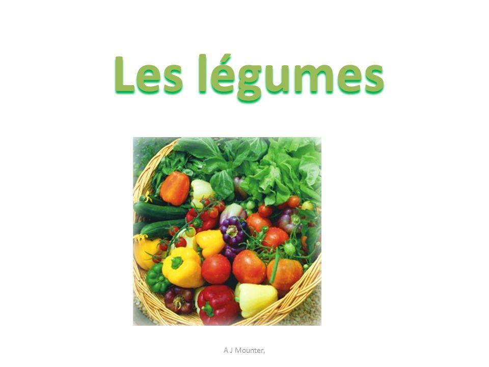 Les légumes A J Mounter,