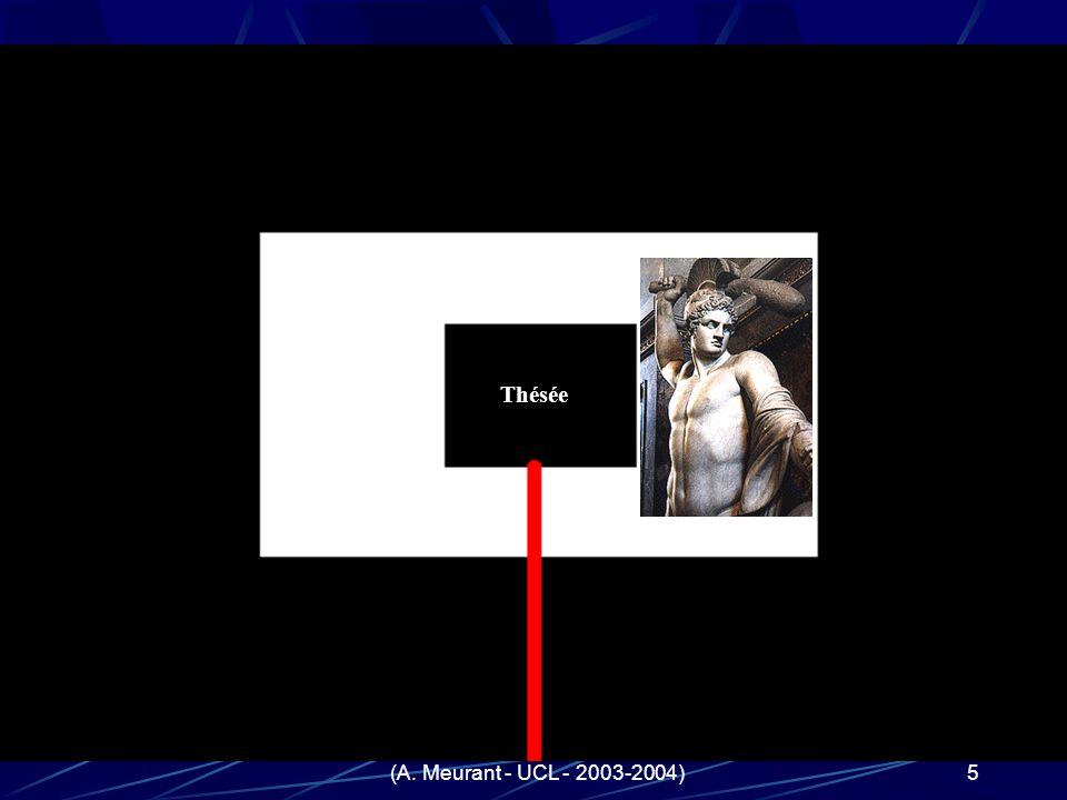 (A. Meurant - UCL - 2003-2004)5 Quand les réprésentations antiques du labyrinthe deviennent-elles équivalentes aux nôtres ? Répondre à cette question