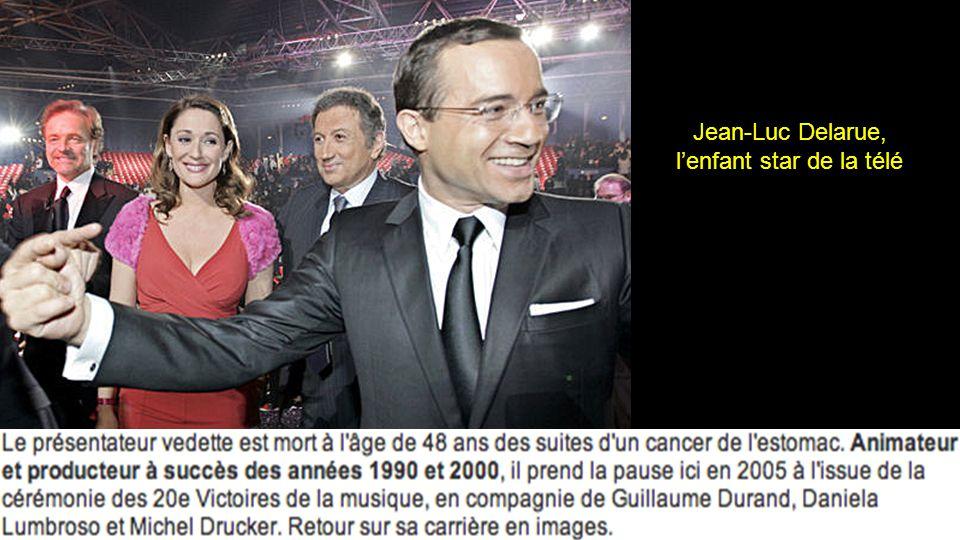 Jean-Luc Delarue, meurt d'un cancer de l'estomac