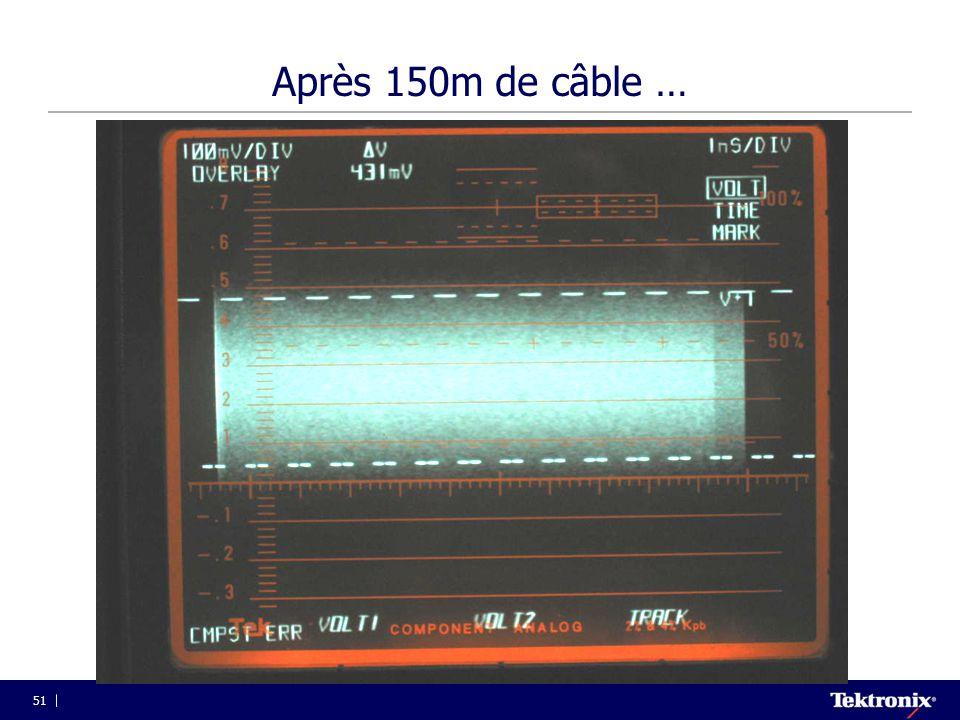 51 Après 150m de câble …
