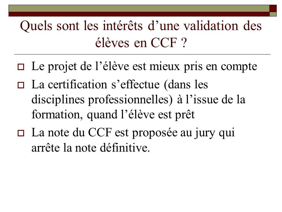 Quels sont les critères pour habiliter une formation en alternance en CCF pour l'E.P.S .