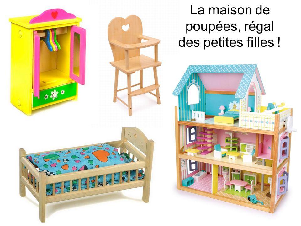 La maison de poupées, régal des petites filles !