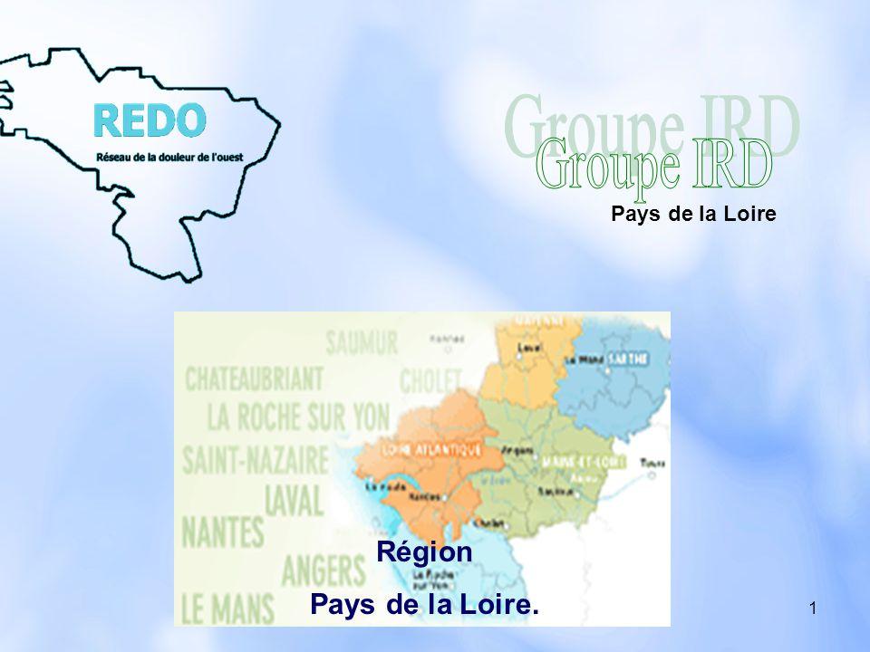1 Région Pays de la Loire. Pays de la Loire