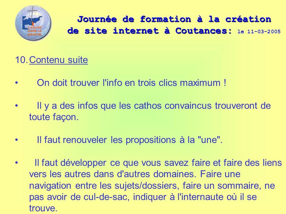Journée de formation à la création de site internet à Coutances: Journée de formation à la création de site internet à Coutances: le 11-03-2005 10. Co