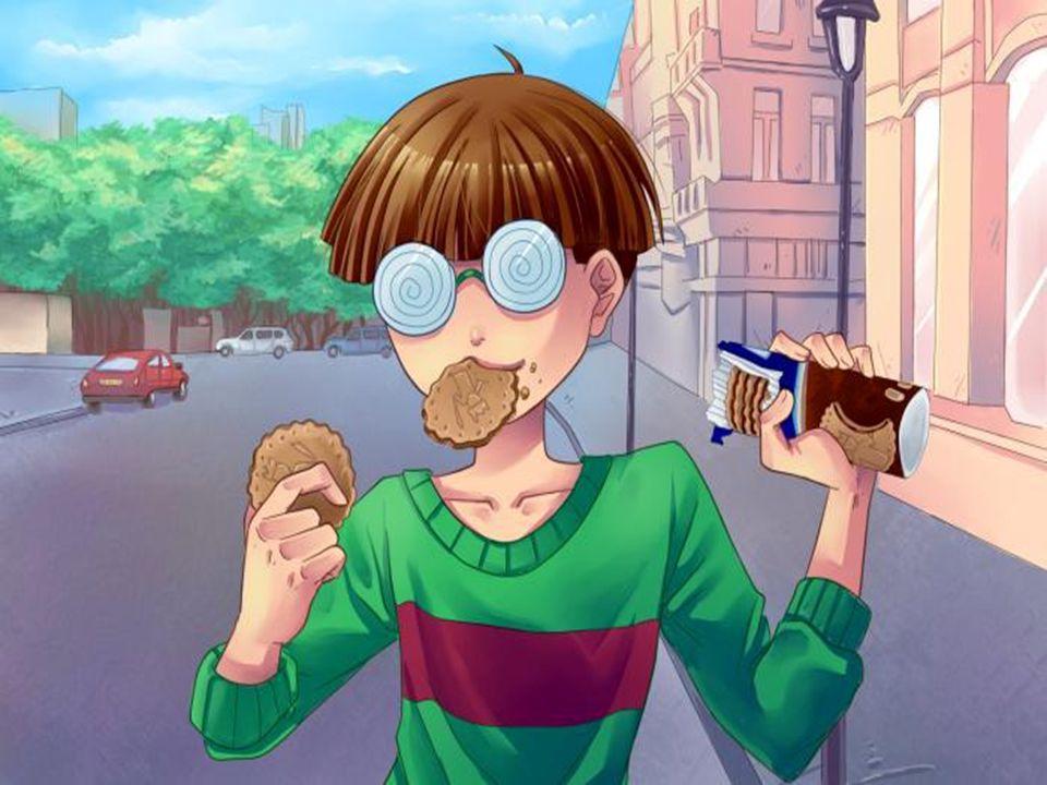 Puis en assister devant le lycée au territoire pour manger son gouter .